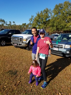 Post race. The Blueberry wanted to keep running!