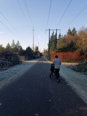 """Long, frosty """"greenway"""""""