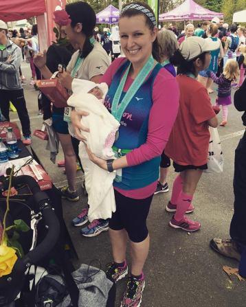 1st run post baby