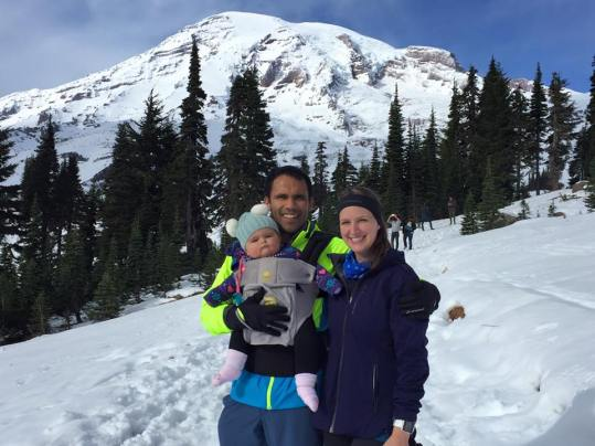 family Mt. Rainier end Oct